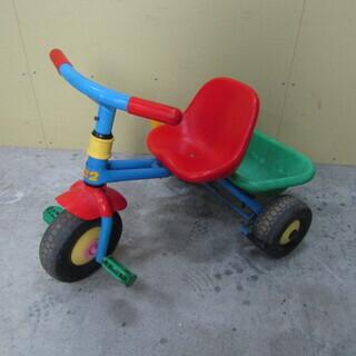 K162 【レトロ/おもちゃ】 三輪車 昭和レトロ ハンド…