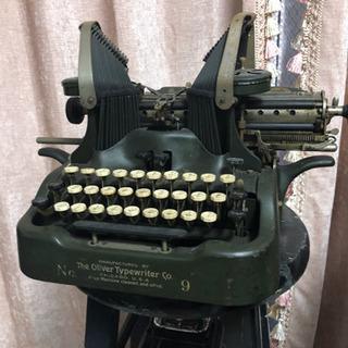 1910年代 第一時世界大戦当時 シカゴ オリバー社製タイプライター