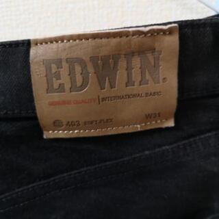 ブラックジーンズ EDWIN403