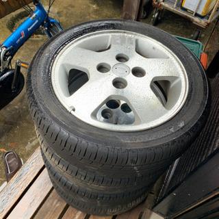日産オッティ 純正タイヤホイール4本セット