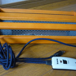 フットヒーター 電気足温器 2012年12月購入