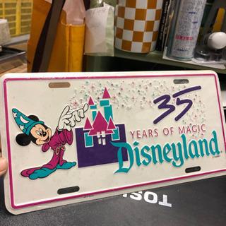アメリカ ディズニー 35周年 記念
