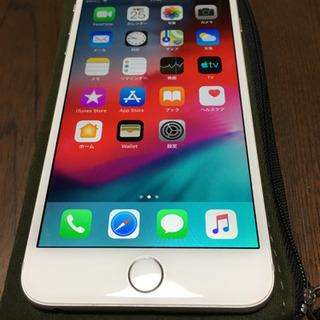 iPhone 6plus au 16GB シルバー 美品 iFa...