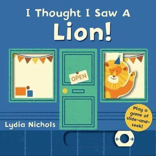 英語絵本「I Thought I Saw a Lion!」