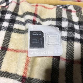 SanDisk製 microSD-SD変換アダプタ