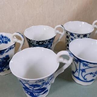 コーヒーカップミニ 5個