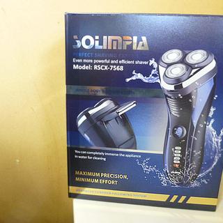 SOLIMPIA 電気シェーバー RSCX-7568 USB充電...