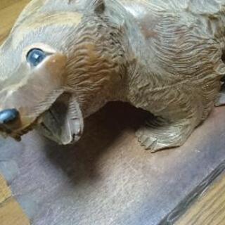 大幅値下げ 木彫り 熊 アンティーク 北海道 置物 インテリア