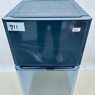 711番 Haier✨冷凍冷蔵庫❄️JR-N106K‼️