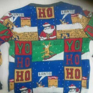 クリスマスニット、セーター子供用