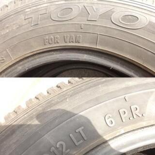 トーヨー 145R12LT 6PR スタッドレス グリッド SV3本+DP1本 - 東近江市