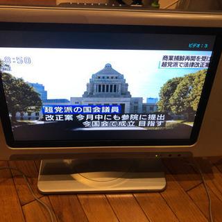 液晶テレビ 17インチ w17-lc50