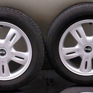 MINI ホイールタイヤセット 15インチ 5.5J PC…