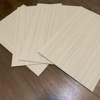 【12月23日まで】カラーボックスの仕切り板(4枚)