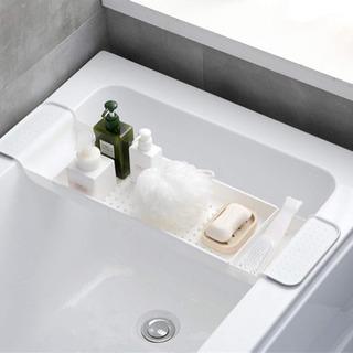 バスタブトレー お風呂テーブル キッチンラック バスラック 水切...