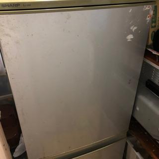 【値下げ】冷凍冷蔵庫★キズあり ノンフロン シャープ