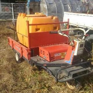 実働 ヤンマー 動力運搬車 乗用可能 ドウフン付 農機具