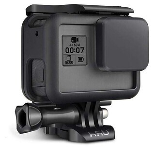 GoPro Hero7・6・5用保護フレーム+シリコンレンズカバ...