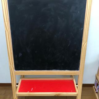 楽器木のおもちゃ IKEA MÅLA モーラ イーゼル, 黒板ホ...