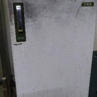 レトロな冷凍庫