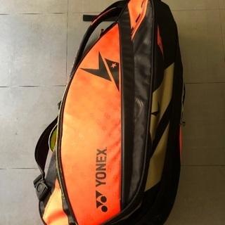 ヨネックスのラケットバッグ ビッグサイズです。
