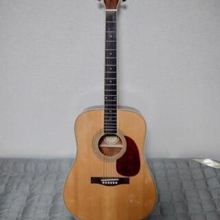 Lunberアコースティックギター(持ち運び用簡易カバー付き)