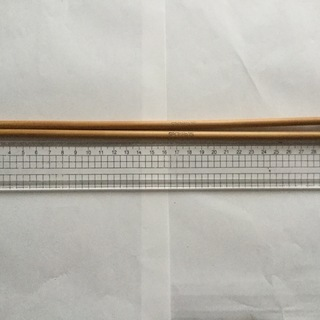 ダイヤ棒針  15号◆2本セット  used ◆8◆