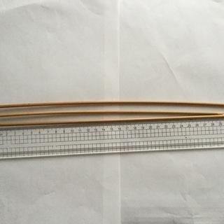 ◆棒針編み、編み棒3本◆  長さがバラバラです、ジャンク、6号で...