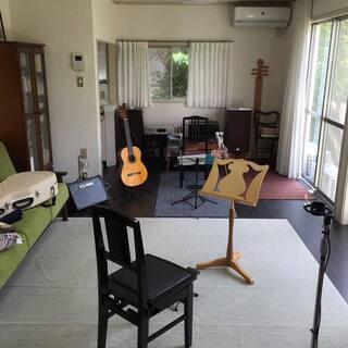 クラシックギターを教えます。