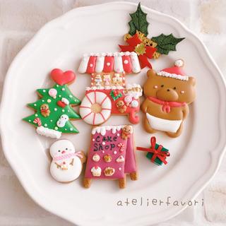初心者ok クリスマスアイシングクッキーレッスン☆川越市