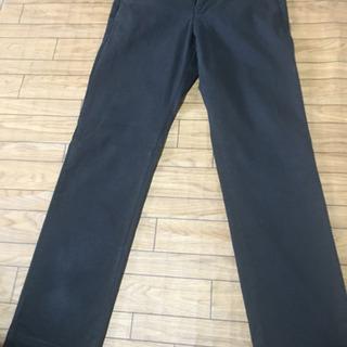 値下げ ユニクロ コットンパンツ 黒 82cm