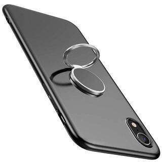 iPhoneXR スマホリング一体型ケース【A-13】