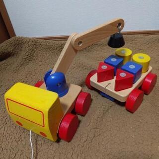 IKEA クレーン おもちゃの画像
