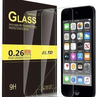 iPod touch 第7世代 9H強化ガラスフィルム2枚セット...