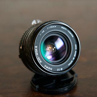 SIGMA MINI WIDE2 28mm f2.8 ニコン用
