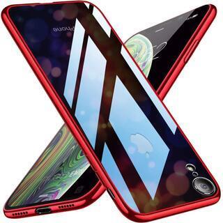 iPhoneXR 背面強化ガラスケース【A-30】