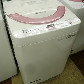 【引取限定】洗濯機 シャープ ES-GE60N-F 201…