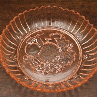 レトロ ガラス皿