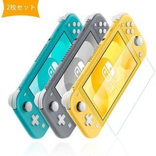 Nintendo Switch Lite ガラスフィルム 2枚セ...