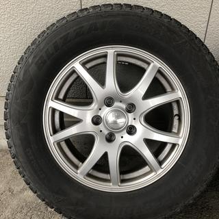 スタッドレスタイヤ+ホイール4本 ブリザックDM-V2  215...
