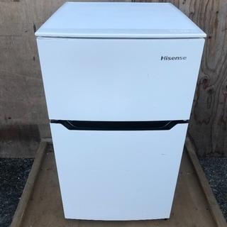 【配送無料】2017年製 ハイセンス 93L 冷蔵室 HR-B95A