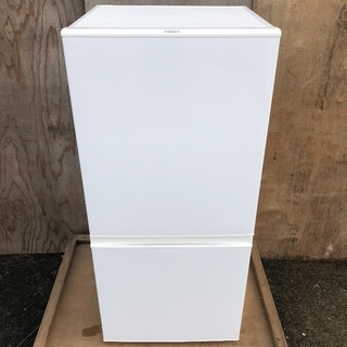 【配送無料】高年式2017年製 AQUA 157L 冷蔵庫 ホワイト