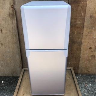 【配送無料】東芝 137L 冷蔵庫 GR-T14T