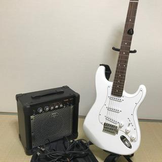 【弦張替済】ギターアンプ 一式 初心者セット