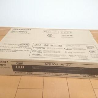 新品・未開封 ブルーレイ レコーダー シャープ  2B-C10BT1