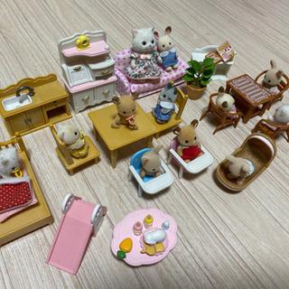 シルバニアファミリー♡はじめてのシルバニア♡お人形、家具、お家セ...