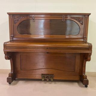 インテリア用 Ritter  halle社製 約100年前のピアノ
