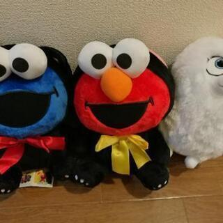 【新品】6月末まで2個で500円♡エルモ クッキーモンスター
