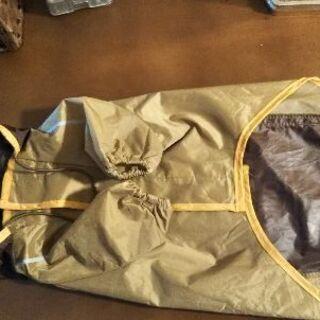 犬用レインコート(Mサイズ)巾着袋付き - 札幌市