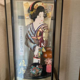 伝統工芸品  正絹押絵御羽子板
